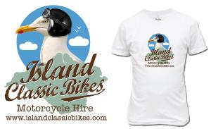 island Classic bikes new corporate identity