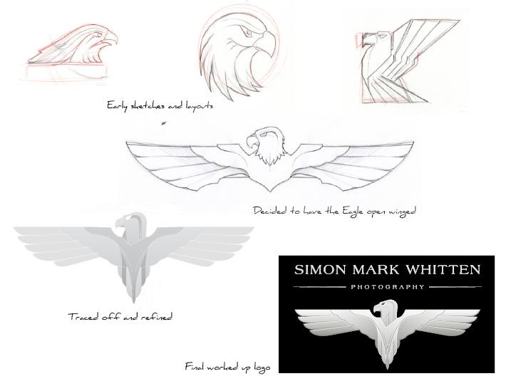 Simon Mark Whitten Photography logo design