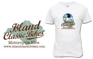 Island Classic Bikes' new corporate identity (and seagull)