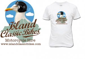Island Classic bikes new corporate identity