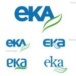 eka logo design