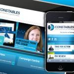 police federation website design