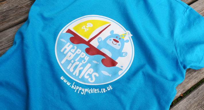 Happy Pickles Tshirt Pirate