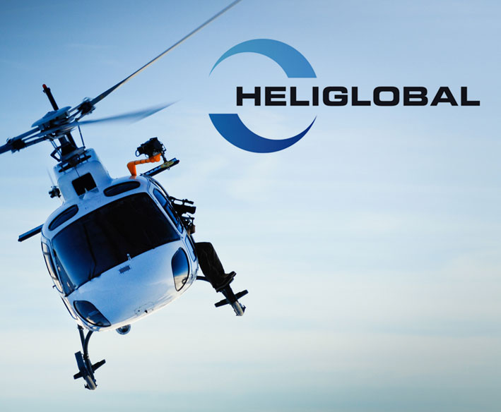 heliglobal logo design