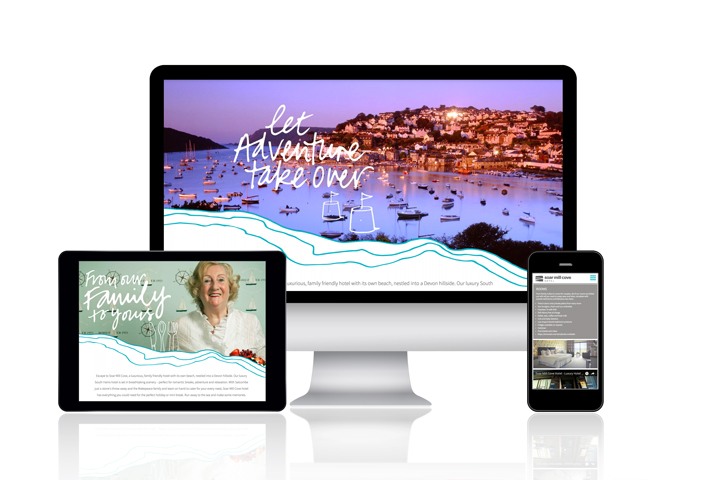hotel website design by LOGO