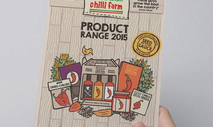 devon chilli farm brochure design by Logo Design