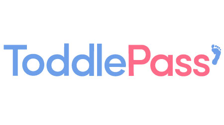 Toddlepass logo design