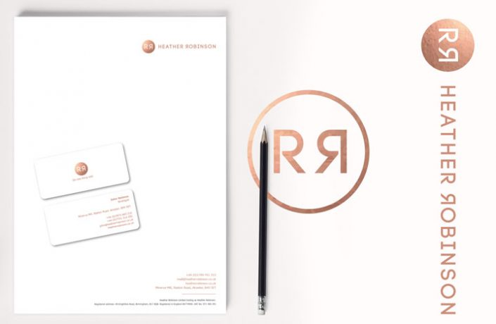 Logo Design for Heather Robinson PR