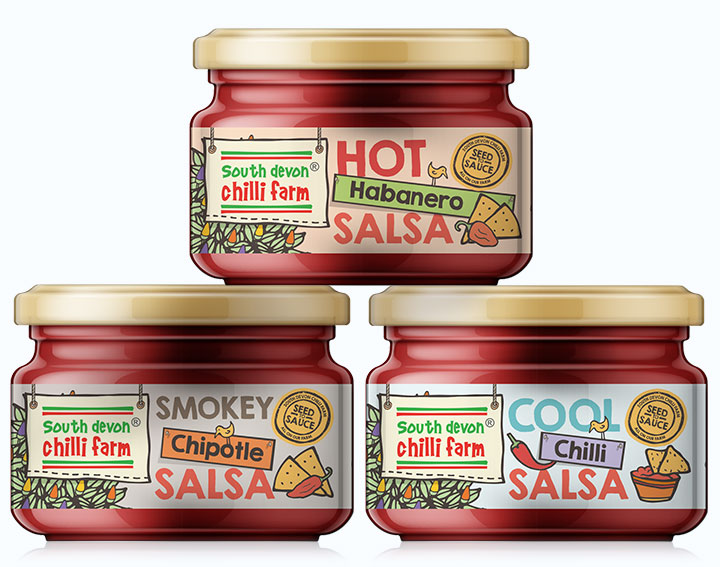 South Devon Chilli Farm Packaging design by Logo Design