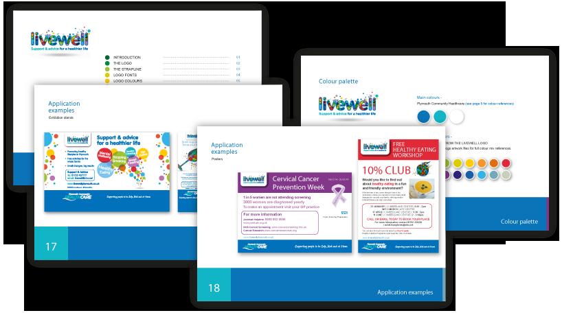 livewell-guidelines-logo-design