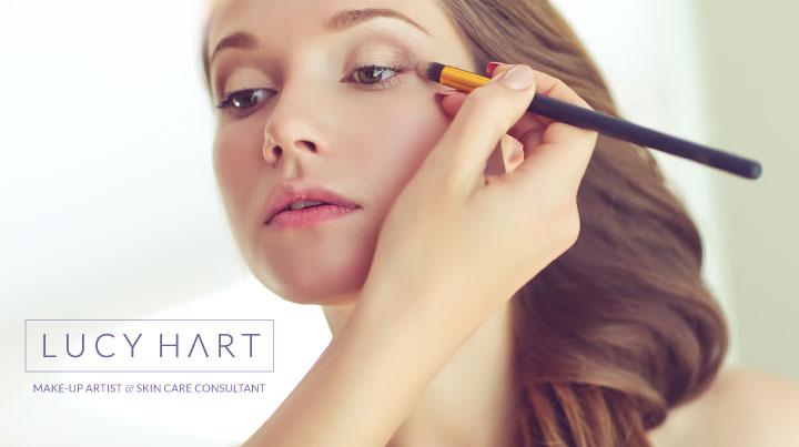 Lucy Hart Make-up Artist - Logo Design
