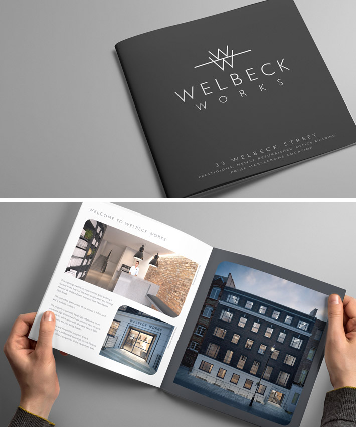 Wellbeck Works Brochure by Logo Design