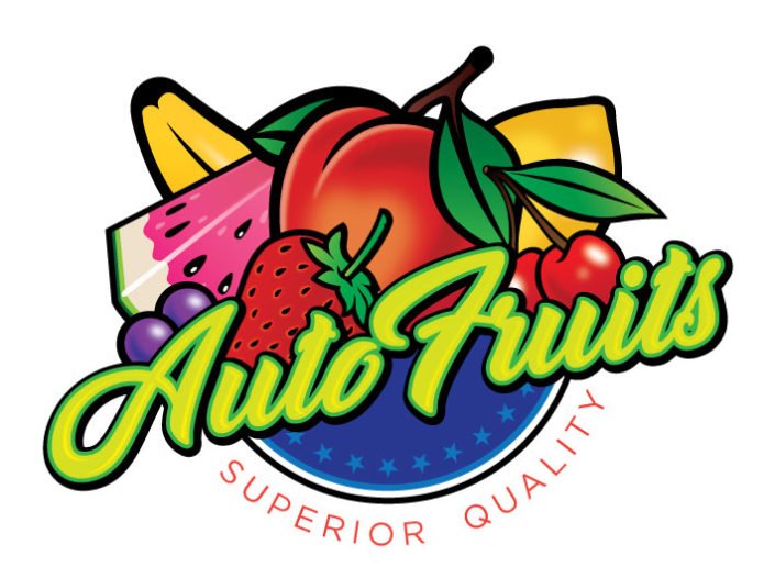 auto fruits logo design